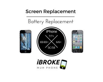 iPhone Screen/Battery Replacement