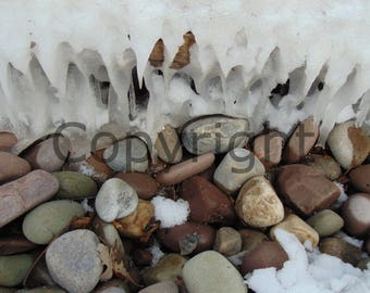 Canvas Rocks and Ice