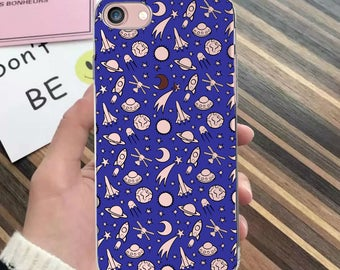 iPhone rockets case, iPhone 7, iPhone 7 Plus, iPhone 6s, planets case, iPhone SE, iPhone 8 Plus, iPhone 6 Plus, iPhone X case, iPhone 8 case
