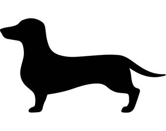 Dachshund  Cute Dogs Pet Domestic Dog Canine  Breed Doggy Friendly  .SVG .EPS .PNG Vector Space Clipart Digital Download Circuit Cut Cutting