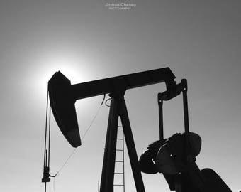 Pumpjack - Rural Photography