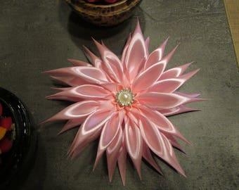 Dahlia is pink satin ribbon