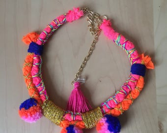 Handmade ethnic collar