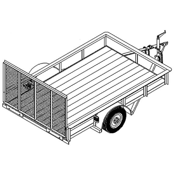 utility trailer specifications with 5 X 8 Utility Trailer Plans Blueprints on Luggage Trailer moreover 5 X 8 Utility Trailer Plans Blueprints in addition View as well Draw Tite Class IIIIV Trailer Hitch For The GM Blazer Suburban Tahoe Yukon Escalade  DT75037 further Weather King Wiring Diagram.