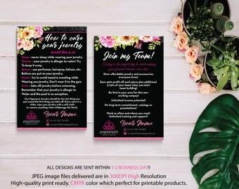 How to care Paparazzi, Paparazzi Join My Team, Personalized Paparazzi, Paparazzi Marketing, Custom Paparazzi Card, Printable PP09
