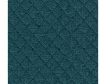 Quilted green duck France Duval Jersey