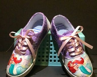 The Little Mermaid (Ariel) Inspired Shoes