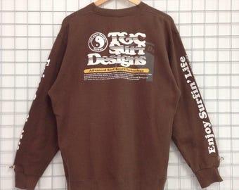 Vintage T&C Sweatshirts Big Logo Nice Design