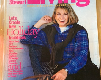 Martha Stewart Living Preview Issue Winter 1990