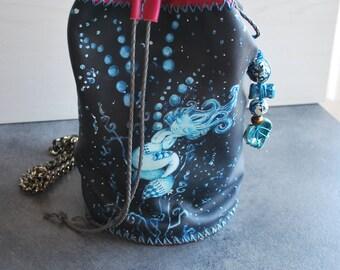 women's bag, leather backpack, shoulder bag