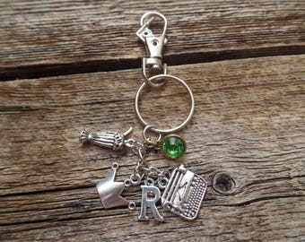 Riverdale Bughead Inspired Keychain