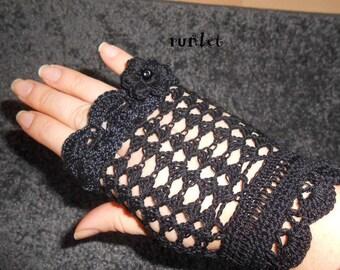 black fingerless gloves summer
