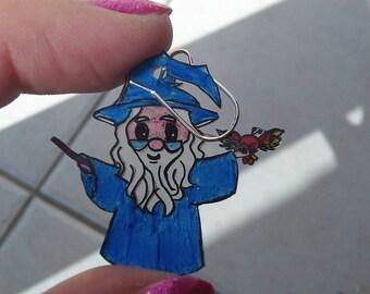 Earrings Harry Potter hagrid dumbledore