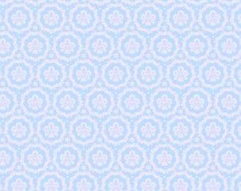 Fabric coupon 50/35 cm, TILDA, Round Ornament Tea 480079 Lily