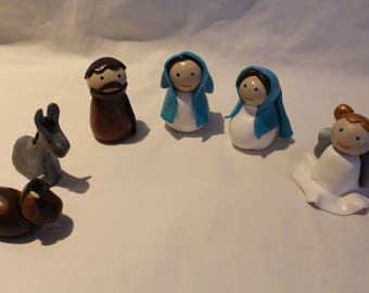 Christmas, crèche, Nativity, custom