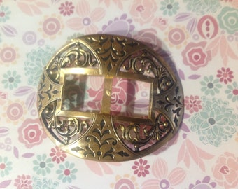 Vintage early last century antique belt buckle