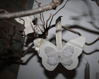 Wooden hanging Butterfly scented