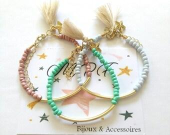 Bracelet seed bead tube