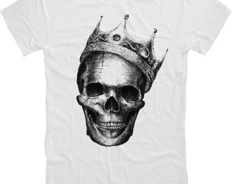Afterlife Clothing - Royal Skull T-Shirt Design Mens