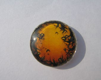Cabochon 20 mm round domed with halloween image
