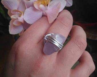 ring Amethyst size 54