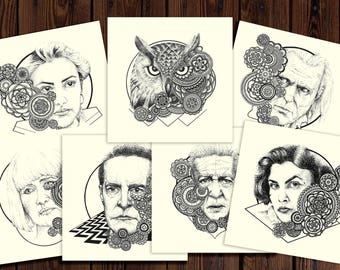 All 7 Limited Edition Twin Peaks Art Prints