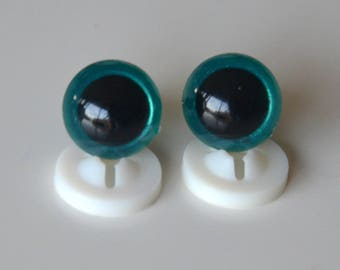 Secure eyes 12mm Emerald for toy or stuffed animal