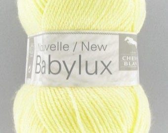 wire layatte yarn baby BABYLUX color straw No. horse BL 097
