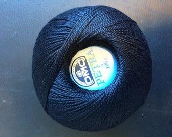 DMC Petra No. 5 - ball 100gr reference 5310 black