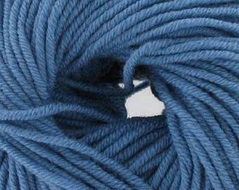 100% Blue 58 Merino Wool (Katia) - ball 50 gr.