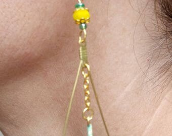 Percussion earrings