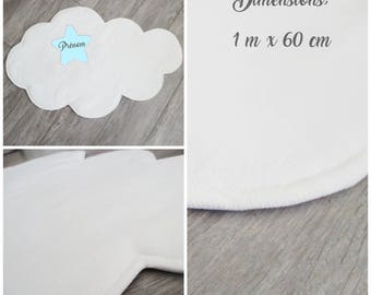 Floor mat, bedside customizable cloud