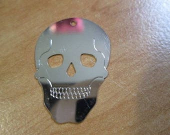 print or metal 26 X 18 MM skull connector