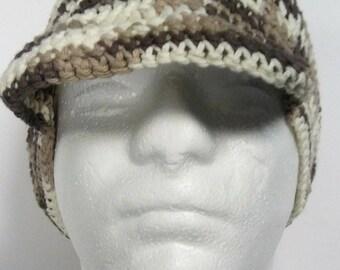 Crochet hat Crochet cap Outdoor cap hat Summer cap