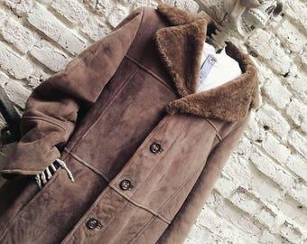 Vintage turned Shearling coat