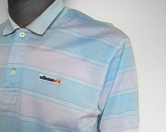 Elesse Vintage 80's short sleeve polo