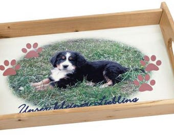 Customize with your photos serving trays
