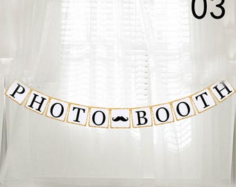 PHOTO BOOTH for wedding decoration Garland