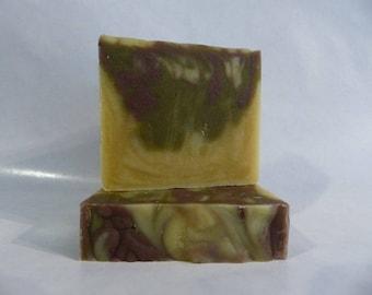 Lemongrass & Lavender - Cold Process All Natural Handmade Soap