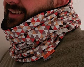 Snood or neck reversible