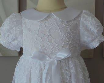 18 months christening or a white wedding dress