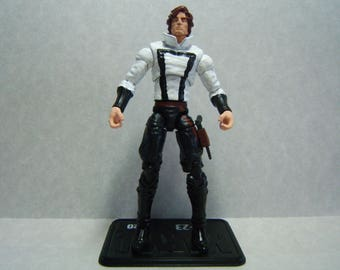 "Custom 3.75"" Steampunk Star Wars HAN SOLO - poseable & ready to go"