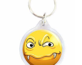 Key ring yellow Vampire - key-kids
