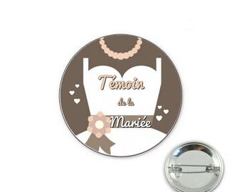 Maid of honor - woman - 32mm badge