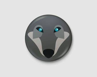Animal - Wolf badge