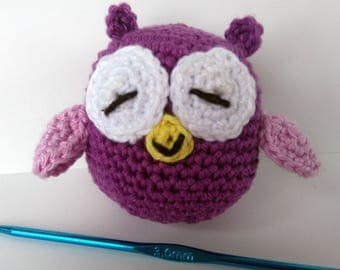 Oh the beautiful OWL handmade crochet