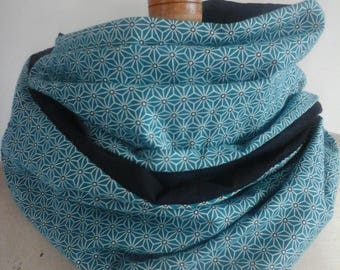 SNOOD / scarf * Asanoha * 2 rounds, spring-summer
