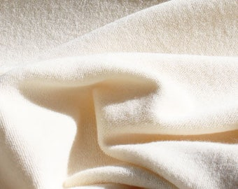 Cotton micro-eponge mono ecru face
