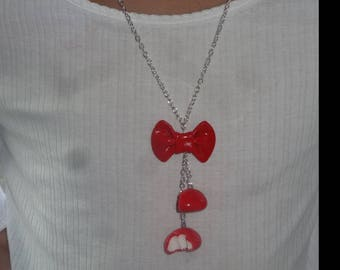 Strawberry necklace t. greedy and original for this summer