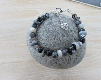 """Karakum"" natural stone bracelet"